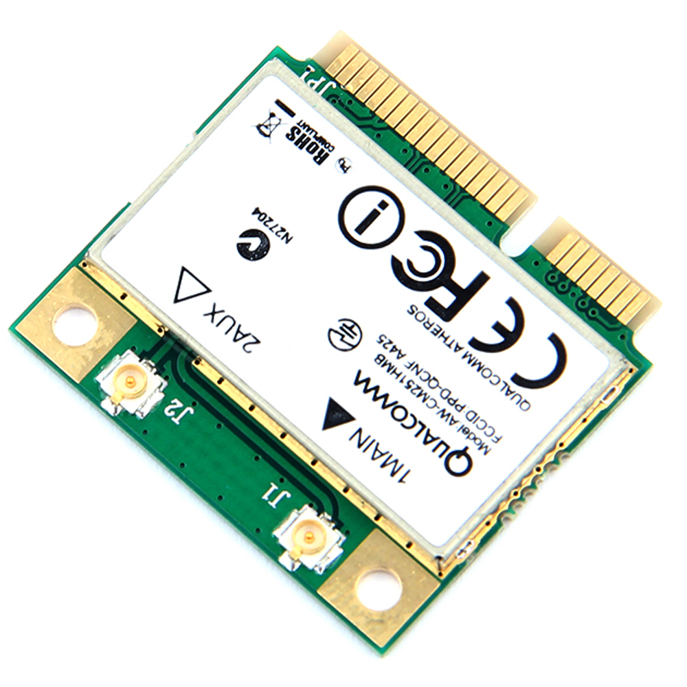 Image 5 - Dual Band Wireless AC Qualcomm Atheros QCA9377 Wireless wifi card Mini PCI e bluetooth WI FI 802.11 ac+Bluetooth 4.1 up to 433M-in Network Cards from Computer & Office