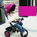 1-5 años de edad los niños envío inflable triciclo bebé bicicleta de la bici cesta