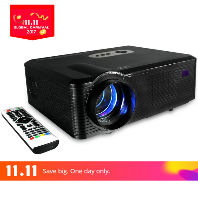 Vivibright Original CL720 LED Projector 3000 Lumens 1280 x 800 Pixels With Analog TV Interface For School TV Home Theater