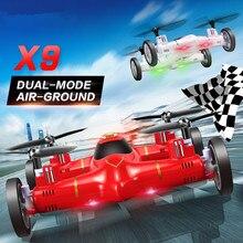 RC Flying Car drone x9 Mini Drone Air Land Dual Mode 2 4G 4CH 6 Axis