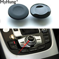 1PC Car Navigation Buttons Parts Knob Button Cover For Audi A4 A5 Q5 A6L Q7 A8 Car-Styling Decoration Auto Accessories
