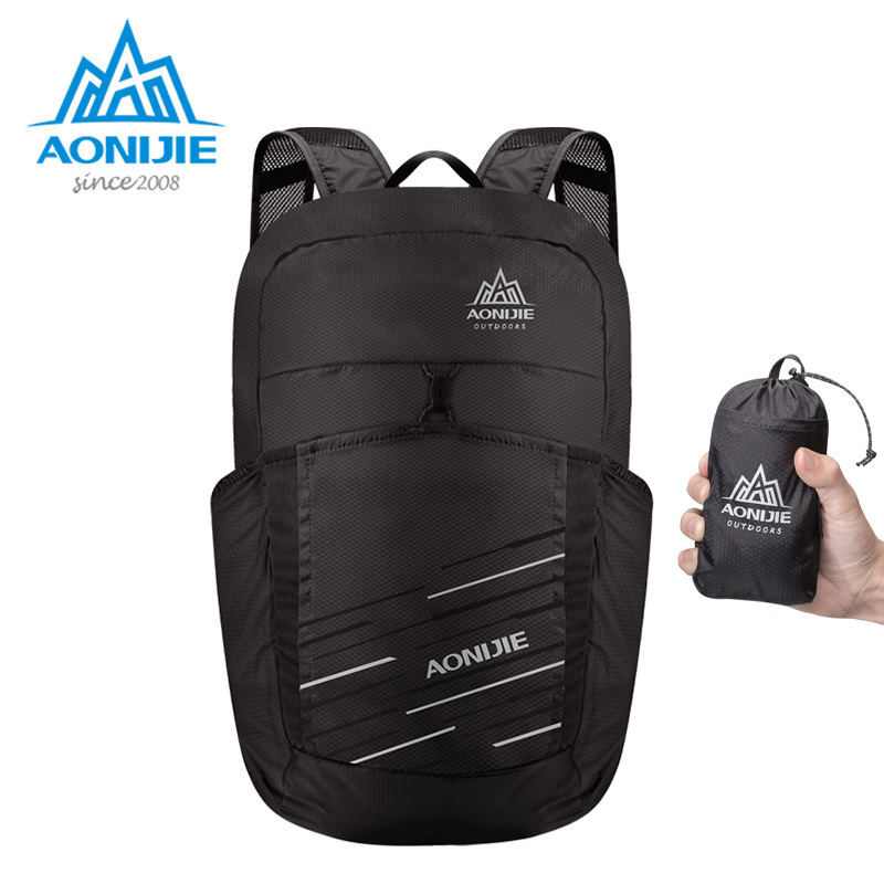 AONIJIE H945 Lightweight Folding Packable Backpack Travel Bag Pack Hiking Camping Shopping Daypack 25LAONIJIE H945 Lightweight Folding Packable Backpack Travel Bag Pack Hiking Camping Shopping Daypack 25L