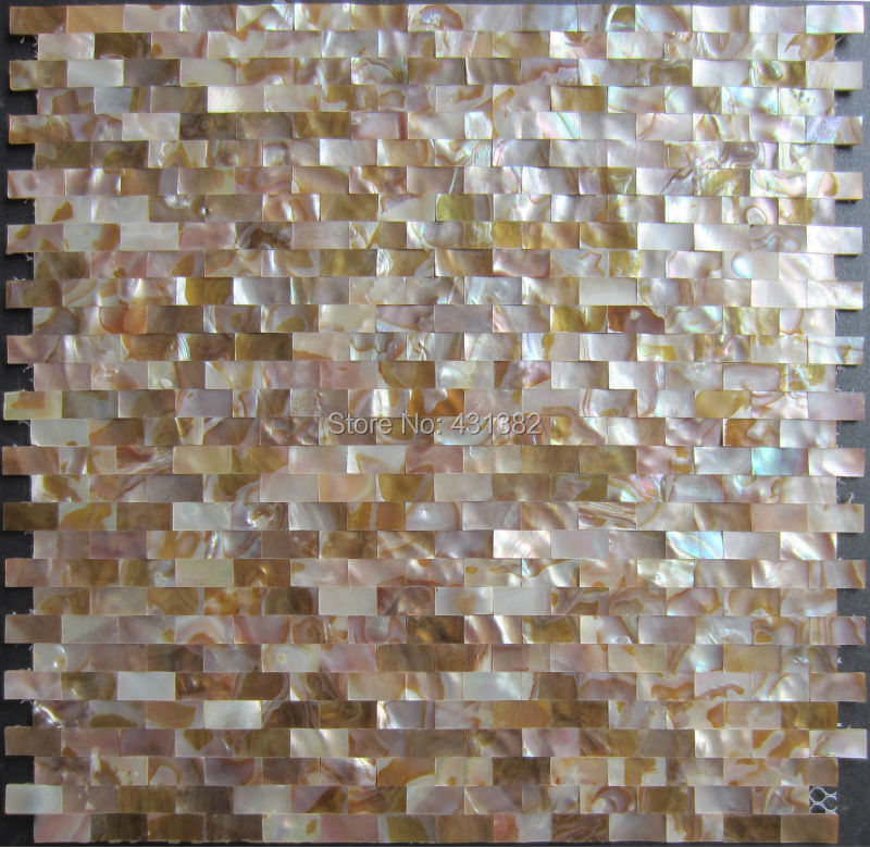 home improvement x natural de gua doce shell mosaico de azulejos backsplash shell mosaico me de