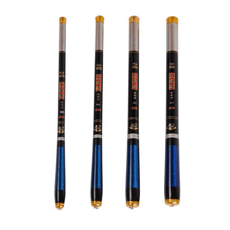 YUYU портативная удочка для проточной ловли 2,7 m-5,4 m высокоуглеродистая телескопическая удочка, удочка для карпа, удочка для ловли карпа, ультра складной Удочка 40 см
