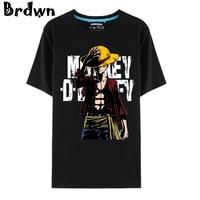 One Piece Unisex Luffy Zoro Chopper skull straw hat Ace Law Usopp Franky Cosplay T-Shirt Tops short sleeve Tee