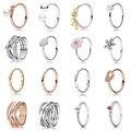 Женское кольцо с жемчугом, серебряного цвета