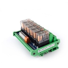 6-way relay module G2R-2 PLC amplifier board relay board relay module 24V12v compatible NPN/PNP цена