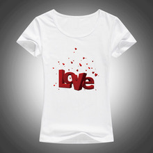 Shirts Valentine's Womens letter