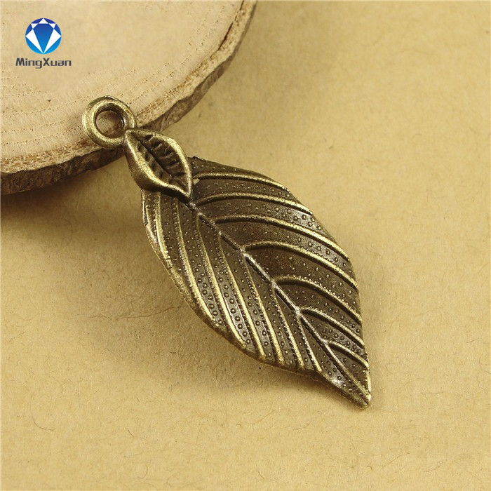13pcs Silver Maple Leaves Charms Pendants for Necklace Jewelry Making Crafts
