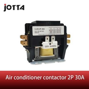 цена на 2P 30A air conditioner single phase electrical contactor