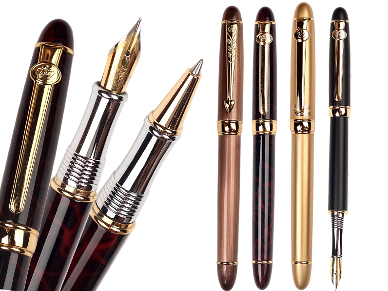 Fountain Pen or RollerBall pen  DUKE 96A standard pen stationery Free  Shipping 8pcs lot wholesale fountain pen black m 14 k solid gold nib or rollerball pen picasso 89 big executive stationery free shipping