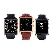 2016 mode Smart Uhr DM08 Wrist Smartwatch Unterstützung Micro Sim-karte Schlaf Tracking NFC Kommunikation