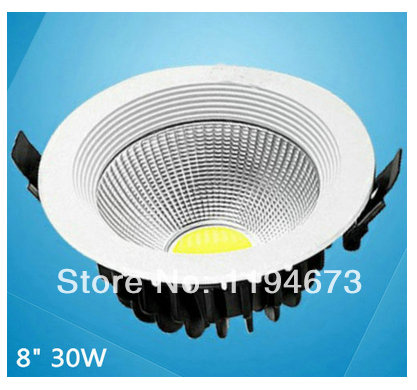 8 inch recessed lighting free shipping inch cob 30w warm whitecool white led recessed lighting for bedroom decorationled driver ac85v 265vin downlights from lights