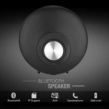 Wireless Bluetooth Portable Speaker Mini Subwoof Sound with Mic Microphone TF Card Audio Output MP3 Sound Box Loudspeaker