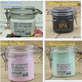 400 g  Facial Mask Purify Black Mud/activating White Clay/net Skin Chlorite/rose Flower Mud Mask S333H