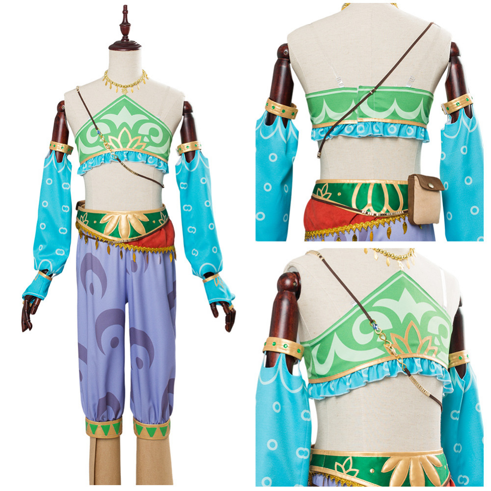 Us 80 75 15 Off The Legend Of Zelda Breath Of The Wild Female Zelda Link Cosplay Costume Gerudo Cosplay Costumes In Anime Costumes From Novelty