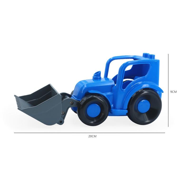 Big SIze Building Blocks Accessory City Bus Truck Aircraft Transport Fire Truck Brick Model Compatible Duploe Toys for children (31)