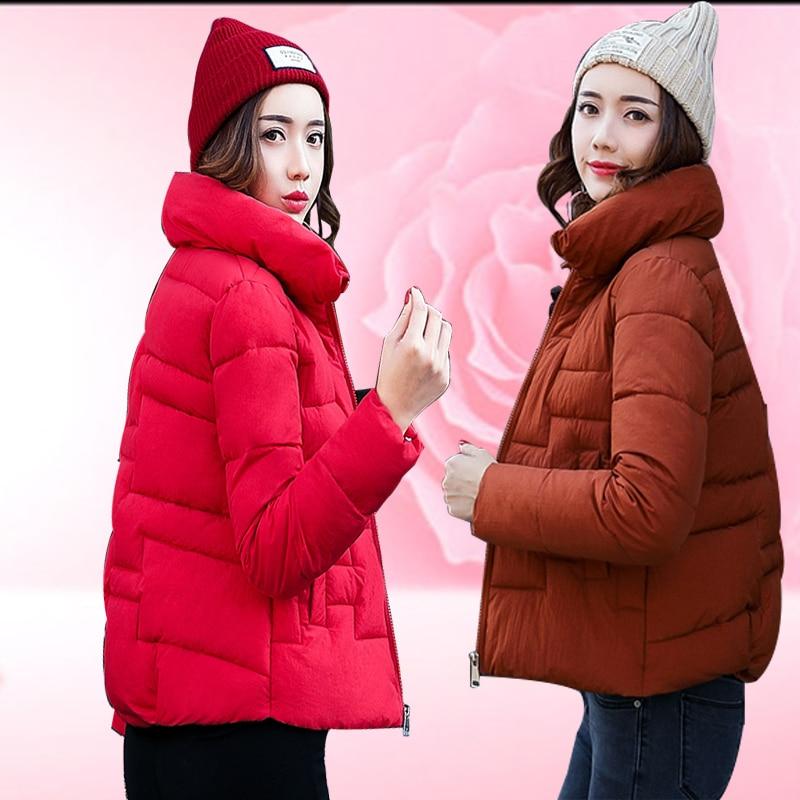 2017 manteau femme womens winter jackets and coats jacket short Cotton clothing jaqueta feminina inverno mujer women coat kurtki