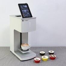 Пенный напиток художник кофейных кружках кружечный печатный станок кофейный принтер