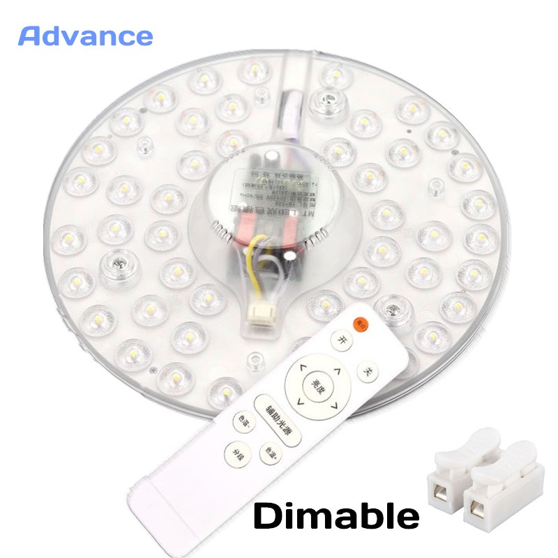 Ceiling Lamps Dimable Magnet LED Module Decoration 24W 32W 40W 5730SMD AC220V LED Light Ceiling Lamp Lighting Source Convenient