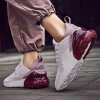 Vanmie femmes chaussures décontractées mode femmes baskets respirant maille chaussures de marche à lacets chaussures plates grande taille 36-47