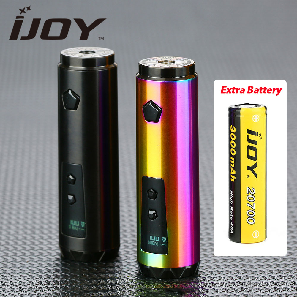 100 W IJOY sabre 100 20700 VW MOD avec batterie unique 3000 mAh 20700 avancé IWEPAL puce sabre E-Cigarette Vape stylo Vs Mech Mod