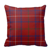 Best Case Traditional Hamilton Tartan Plaid Pillow Case (Size: 45x45cm) Free Shipping