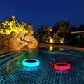 Solar Light RGB LED Onderwater Licht Zonne-energie Vijver Outdoor Zwembad Drijvende Waterdichte Decoratieve LED Licht Met Afstandsbediening
