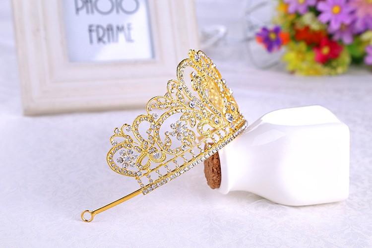 HTB1dyz9LXXXXXb5XFXXq6xXFXXXI Glamorous Wedding Pageant Prom Rhinestone Crystal Crown For Women - 5 Colors