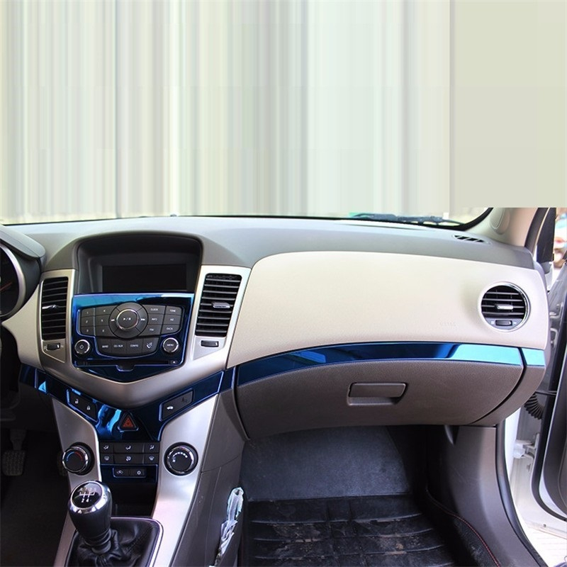 Control system automobile decorative car styling accessories bright sequins 09 10 11 12 13 14 15 FOR Chevrolet Cruze