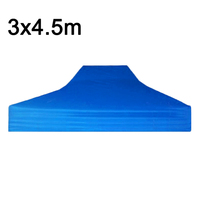 3*4.5m 420D Oxford Cloth Gazebos Tent ClothFolding Waterproof Camping Shelter Cover Yard