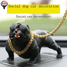 Car accessories  Bully dog Decoration car jewelry decoration in-car creative products cool trend personality Social Gift
