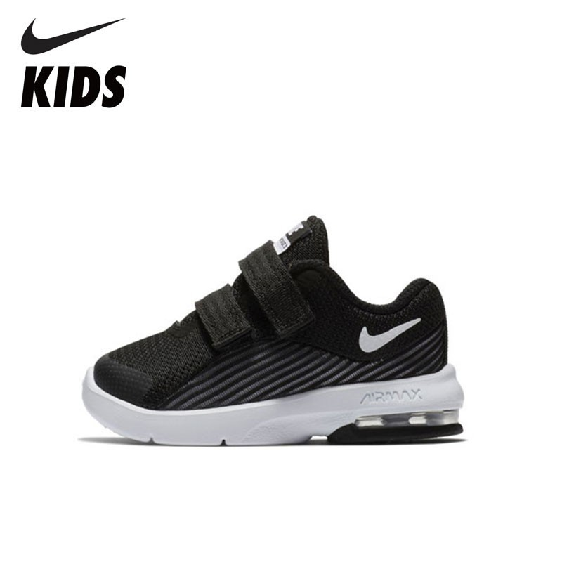 nike kids arrival air max advantage 2 tdv comfortable running shoes casual sweat absent sneaker for kids ar1819 600 NIKE Arrival AIR MAX ADVANTAGE 2 (TDV) Comfortable Running Shoes Anti-slip Casual Sneaker For Kids AR1820-002