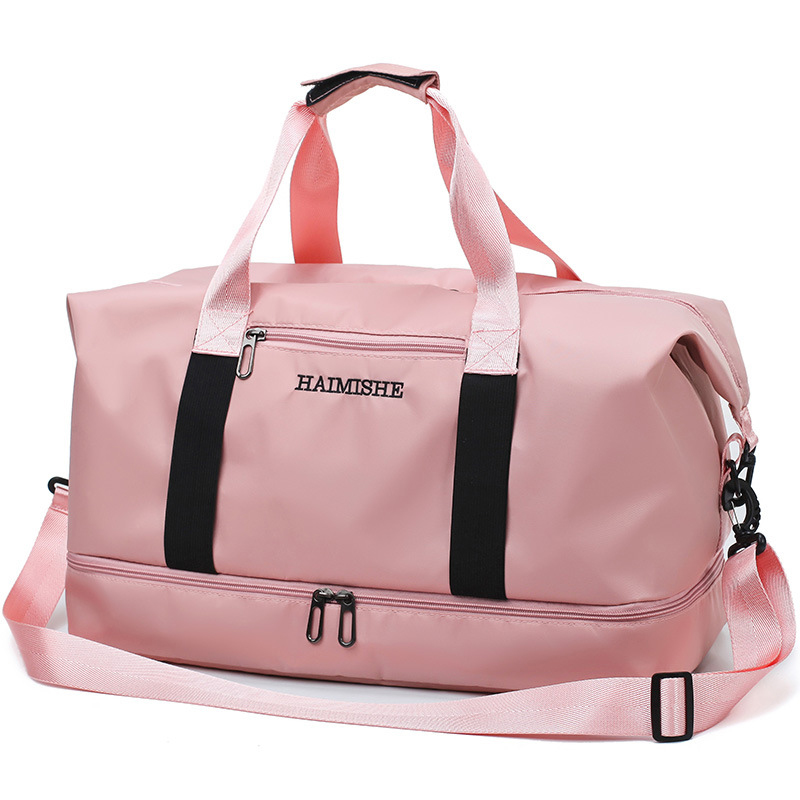 Dropwow 2019 Travel Luggage Bag Waterproof Nylon Sports Bag Lady ... f58fa59754