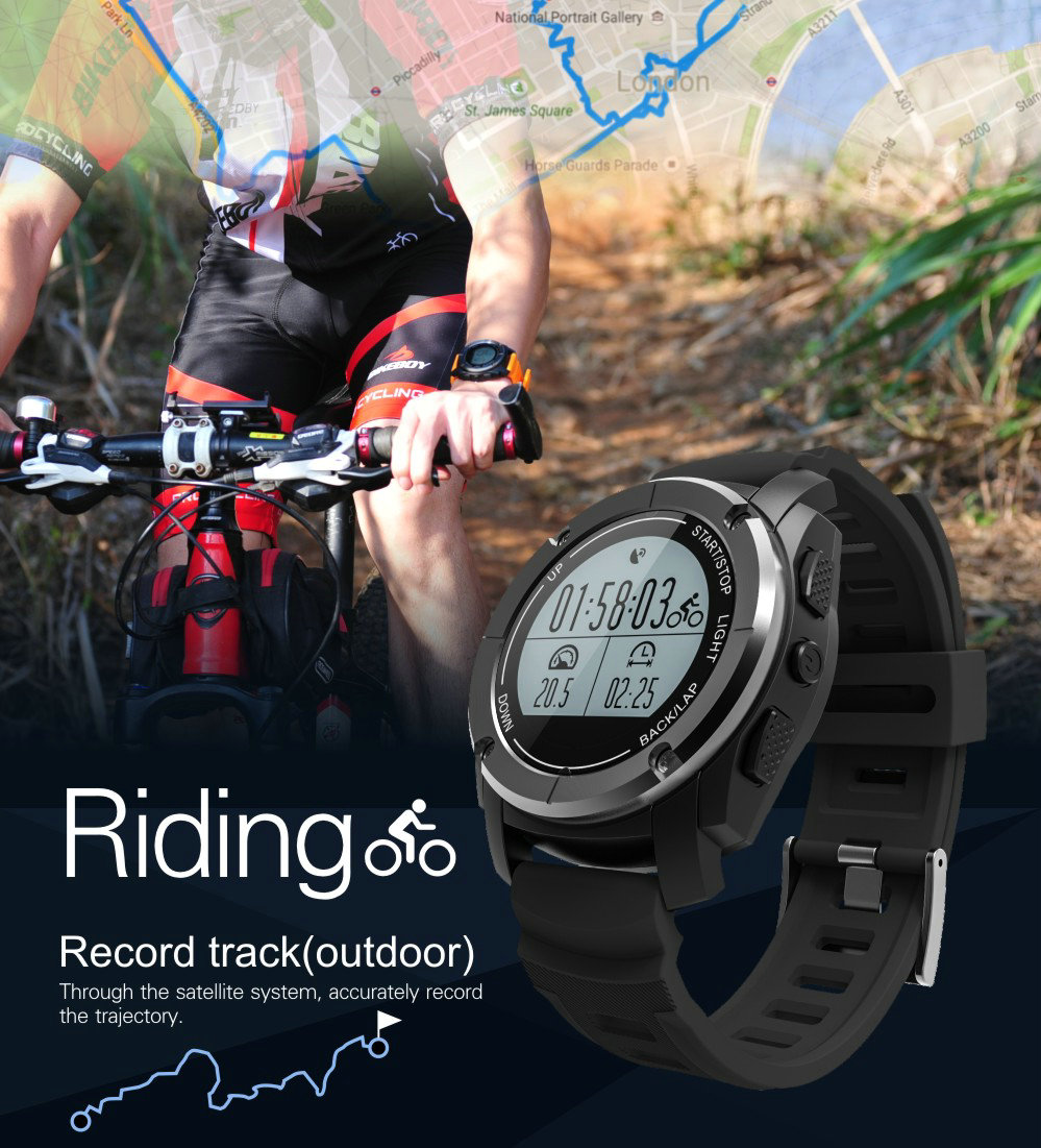 Greentiger GPS Outdoor S928 Smart Watch Heart Rate Monitor Smart Wristband Sport Smartwatch for Android IOS Phone 13