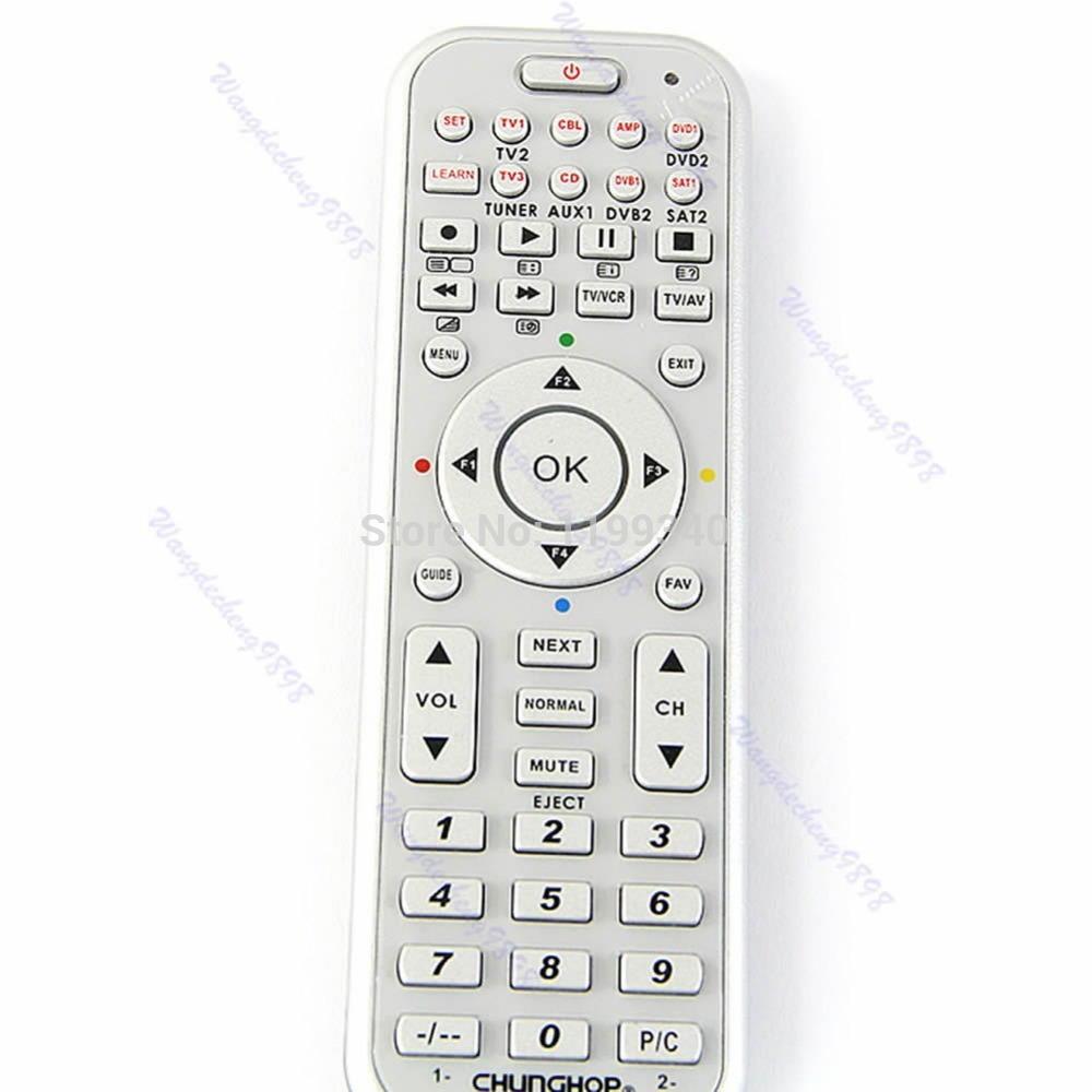 14in1 Smart Remote Control With Learn Function For TV CBL DVD SAT DVB universal smart remote control controller with learn function for tv dvd sat cbl drop shipping