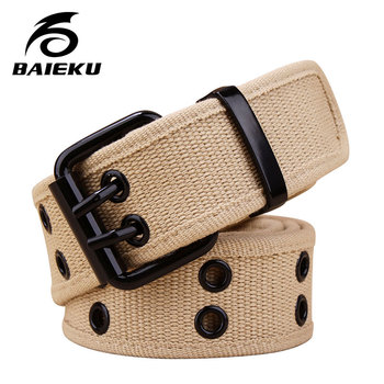 BAIEKU Young Men's Canvas Belts Fo...