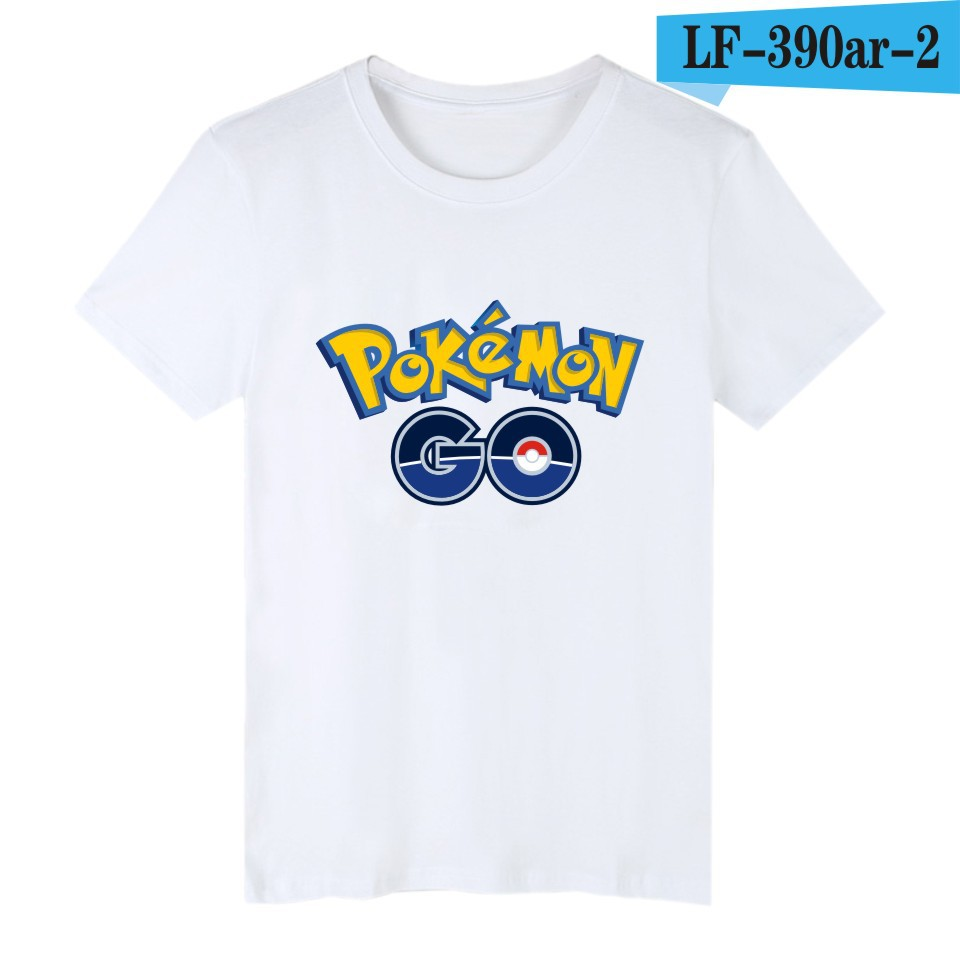 4e5a07a0f23a5 2016New Pokemon Go anime cosplay T shirt cotton cartoon game fans gifs  pokemon Print summer men women Short Casual Free shipping-in T-Shirts from  Men's ...