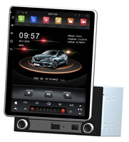 Rotatable Tesla style Screen 2 din 9.7 Quad Core Android 7.1 Universal Car dvd Player RDS Radio GPS Bluetooth WIFI Mirror link