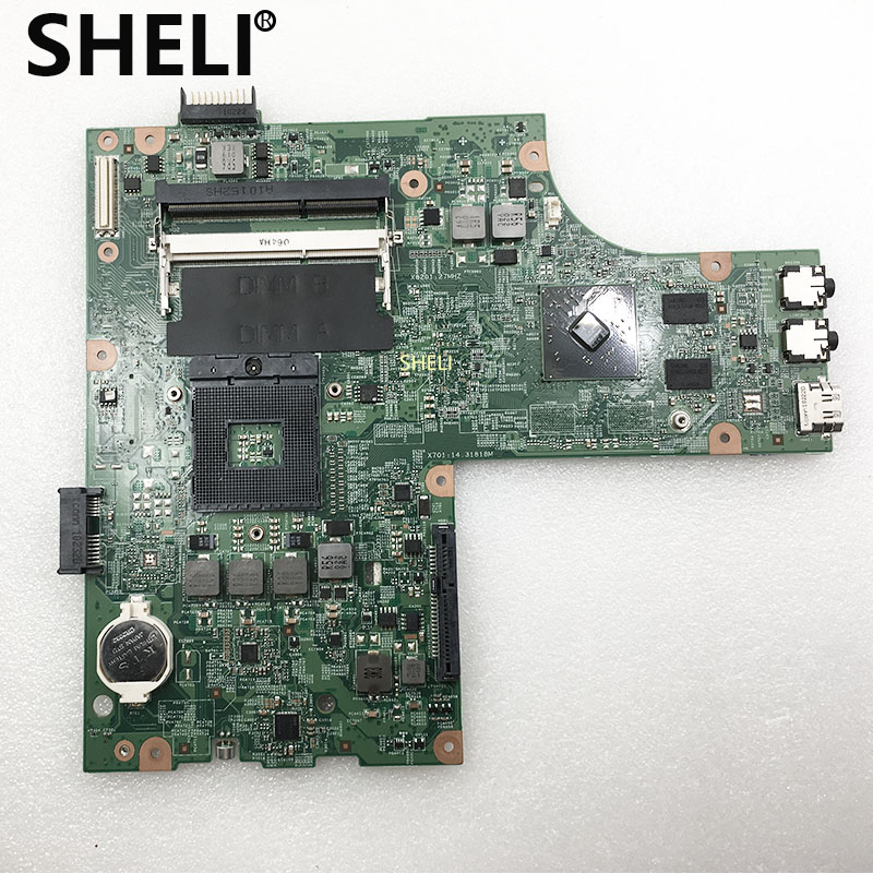 SHELI For <font><b>DELL</b></font> <font><b>N5010</b></font> <font><b>Motherboard</b></font> with HD5470 48.4HH01.011 CN-0VX53T 0VX53T VX53T image