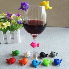 6 шт./компл. смешно чашки определить этикетка силиконовые вечерние вина Стекло бутылки пить метка на чашку метки, Новые поступления