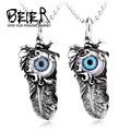 BEIER Fashion Jewelry Stainless Steel Man's Punk Eye Pendant For Man Wholesale Price From Guangzhou BP8-100