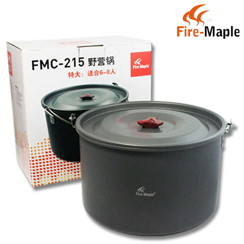Fire Maple Outdoor Camping Large 8L One Hanging Pots Picnic Cooker Cooking Pot
