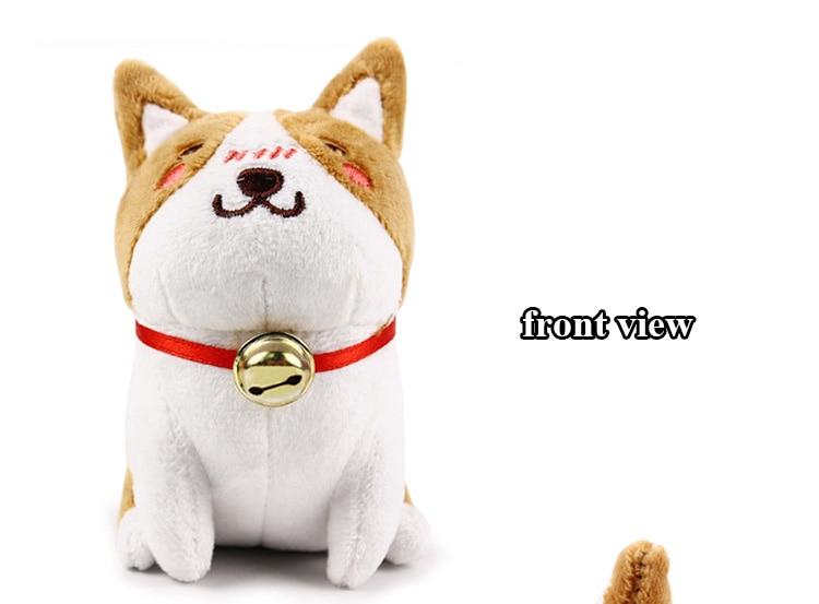 1pcs 1020cm Cute Corgi Dog Plush Toy Stuffed Dolls Lovely Soft Animal Cartoon Dog Plush Keychain for Baby Kids Christmas Gift (8)