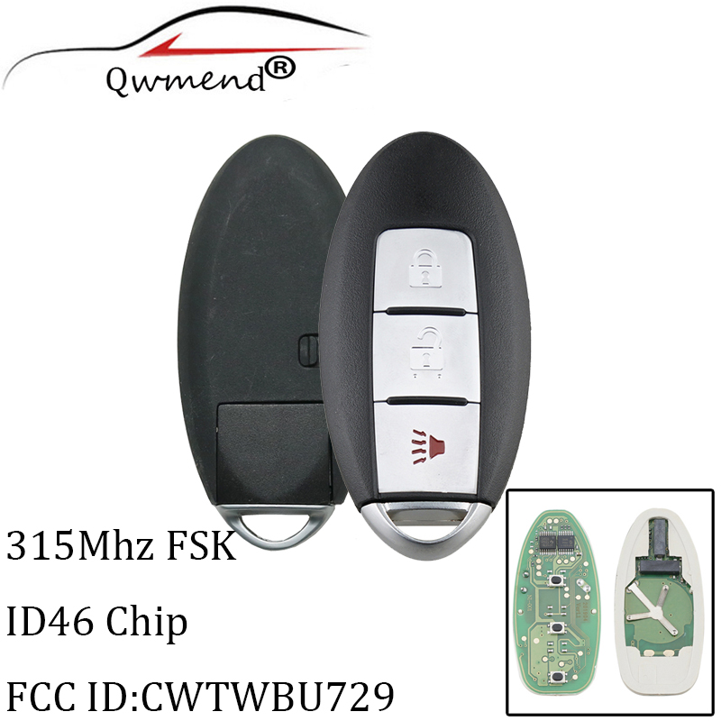 Fits 2008-2013 Nissan Rogue,Versa,Pathfinder Entry Remote Key Fob CWTWBU729 HOT