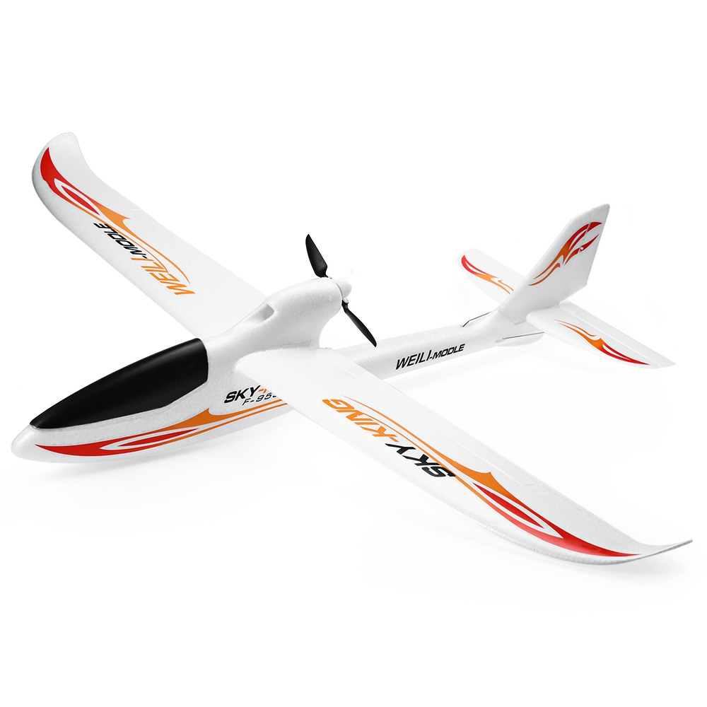 Wltoys F959 Sky King 3CH RC Airplane Push-Speed Glider Fixed Wing Plane RTF Wireless Remote Control VS WLtoys F929 F939 F949 free shipping wltoys f959 lights sky king 2 4g 3ch radio control rc rtf throwing flight airplane epo aircraft