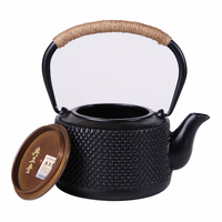 1.2L Chinese Tea Pot Cast Iron Drink Green Tea Water Kettle Antirust Durable China Puer Oolong Tea Teapot Used for Boiling Water