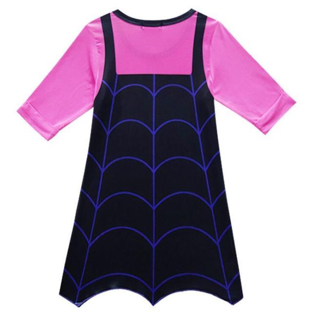 Vampirinas Cosplay Costumes Princess Party Anna Dress Christmas Clothing Summer Girls Dress Gift 5