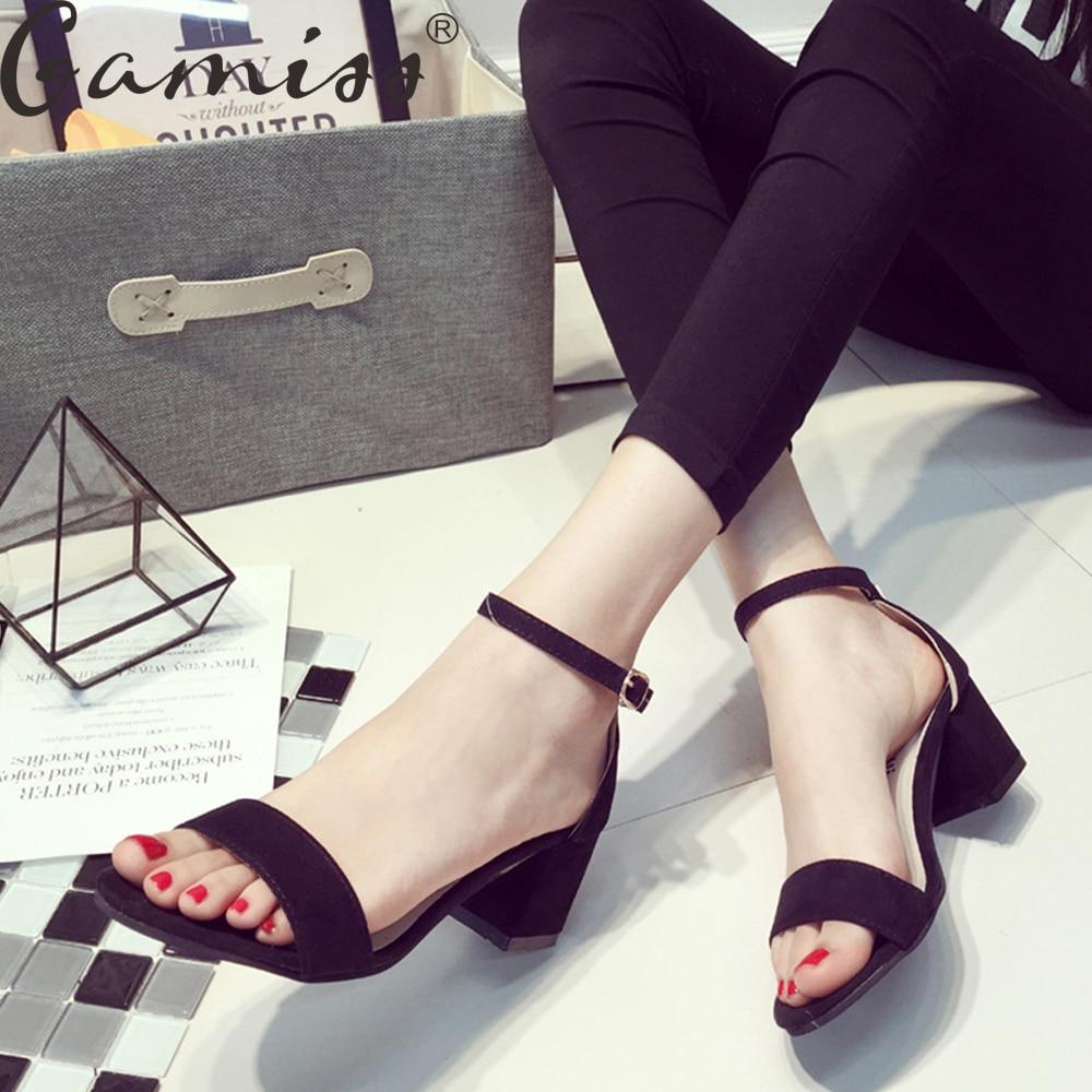 Womens sandals reviews - Gamiss Summer Women Sandals Open Toe Flip Flops Women S Sandles Thick Heel Korean Style Gladiator Shoes Platform Wedge Shoes