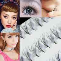 Black 8mm 10mm 12mm 60 Individual False Eyelash Cluster Eye Lashes Extension Tray Makeup Tools
